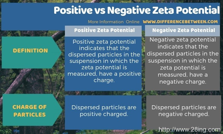 Difference Between Positive and Negative Zeta Potential l Positive vs Negative Zeta Potential